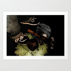 The Weapons Of War Art Print