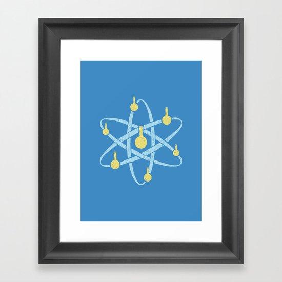 Atomic Tube Framed Art Print