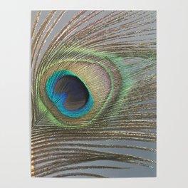 Peacock Feather No.1 | Feathers | Nadia Bonello | Ottawa | Canada Poster