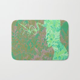 Living in the Forest Bath Mat