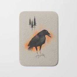 Raven from Blackforest Bath Mat