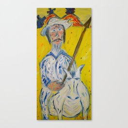 Don Quixote / Don Quijote Canvas Print