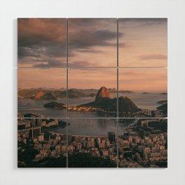 Rio de Janeiro Wood Wall Art