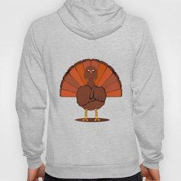 Stern Christmas Turkey Hoody