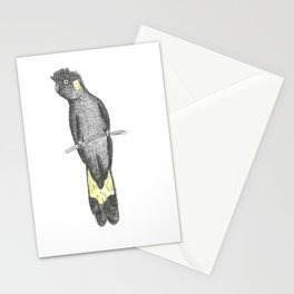 BLACK COCKATOO 2 Stationery Cards