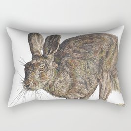 Hare II Rectangular Pillow