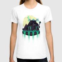 titan T-shirts featuring Moonlit Titan by badOdds