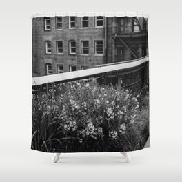 Highline Blooms II Shower Curtain