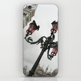 Sideways Sightline in St. Mark's Square - Venice, Italy iPhone Skin