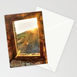 Sunset Window Stationery Cards