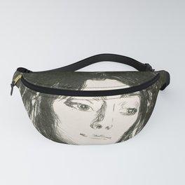"""Edvard Munch """"The Brooch. Eva Mudocci"""", 1903 Fanny Pack"""