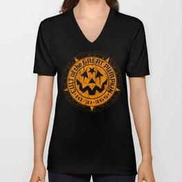 Cult of the Great Pumpkin: Alchemy Logo Unisex V-Neck