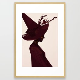 Witch's Hat Framed Art Print