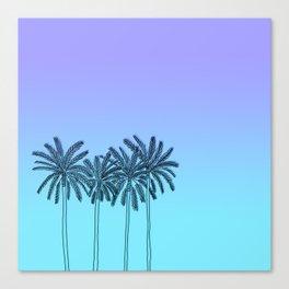 California summer vibes Canvas Print