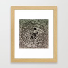 Eight Mix Framed Art Print