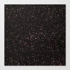 Dolce Black Canvas Print