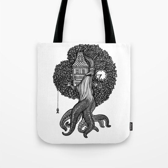 Octotree Tote Bag