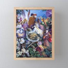 """The Fledgling"" by John Anster Fitzgerald  Framed Mini Art Print"