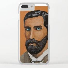 Orange Roger Clear iPhone Case