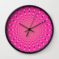 artpop Wall Clocks featuring ARTPOP by Jo Veronne