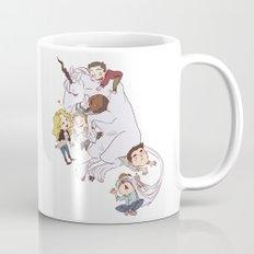 teens and wolves and unicorns Mug
