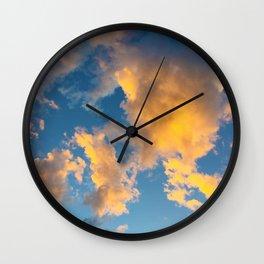Clouds_002 Wall Clock