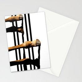 Giraffe Hooves & Stripes Stationery Cards