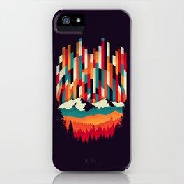 Sunset in Vertical Multicolor iPhone Case