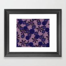 Grey Garden Framed Art Print