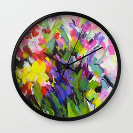 Garden Melody Wall Clock