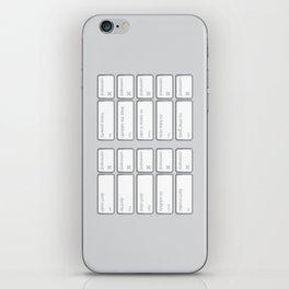 Ten Commands iPhone Skin