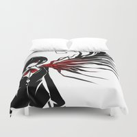 tokyo ghoul Duvet Covers featuring tokyo ghoul  Touka by Lee Chao Charlie Vang