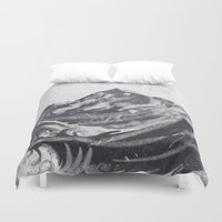 cook Duvet Covers featuring Cook Grey by varvar2076
