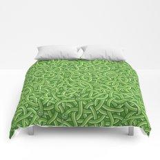 Little Green Snakes Comforters