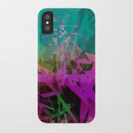somethin' strange. in the forest iPhone Case