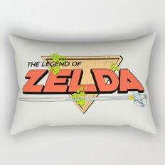 The Legend of Zelda Logo Rectangular Pillow