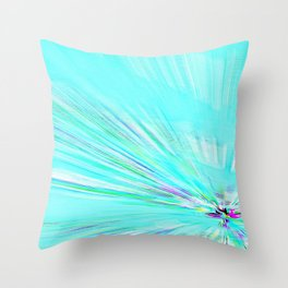 Re-Created Rapture 7 by Robert S. Lee Throw Pillow