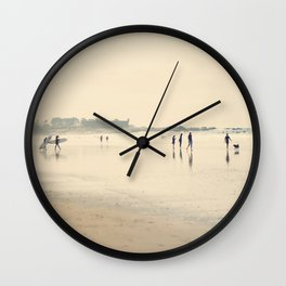 beach life II Wall Clock