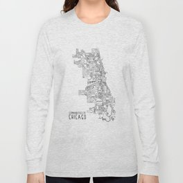 Communities of Chicago Long Sleeve T-shirt