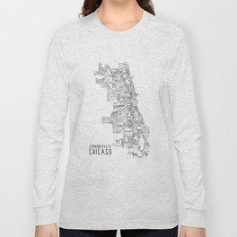 Communities of Chicago Long Sleeve T-shirt