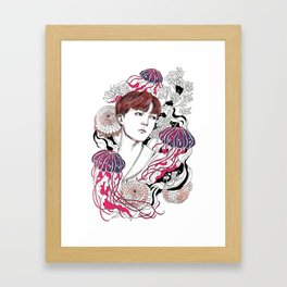 BTS J-HOPE Framed Art Print
