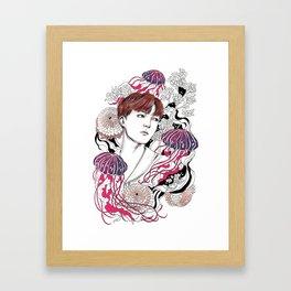 BTS J-HOPE Framed Art Print