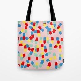 PILLS! PILLS! PILLS! - PINK Tote Bag