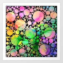 Rainbow Dreams Art Print