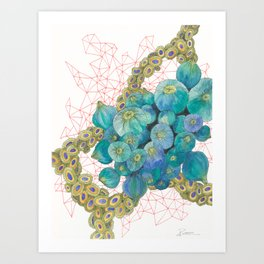 Sea Bulbs Art Print