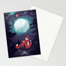 Clever Fox's Tales about the Universe Stationery Cards