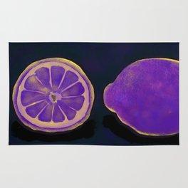Sweet Purple Lemons Rug