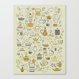 Teapots #2 Canvas Print