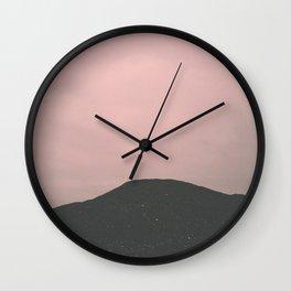 Alien sky Wall Clock