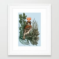 rose gold Framed Art Prints featuring Rose Gold by Awreon